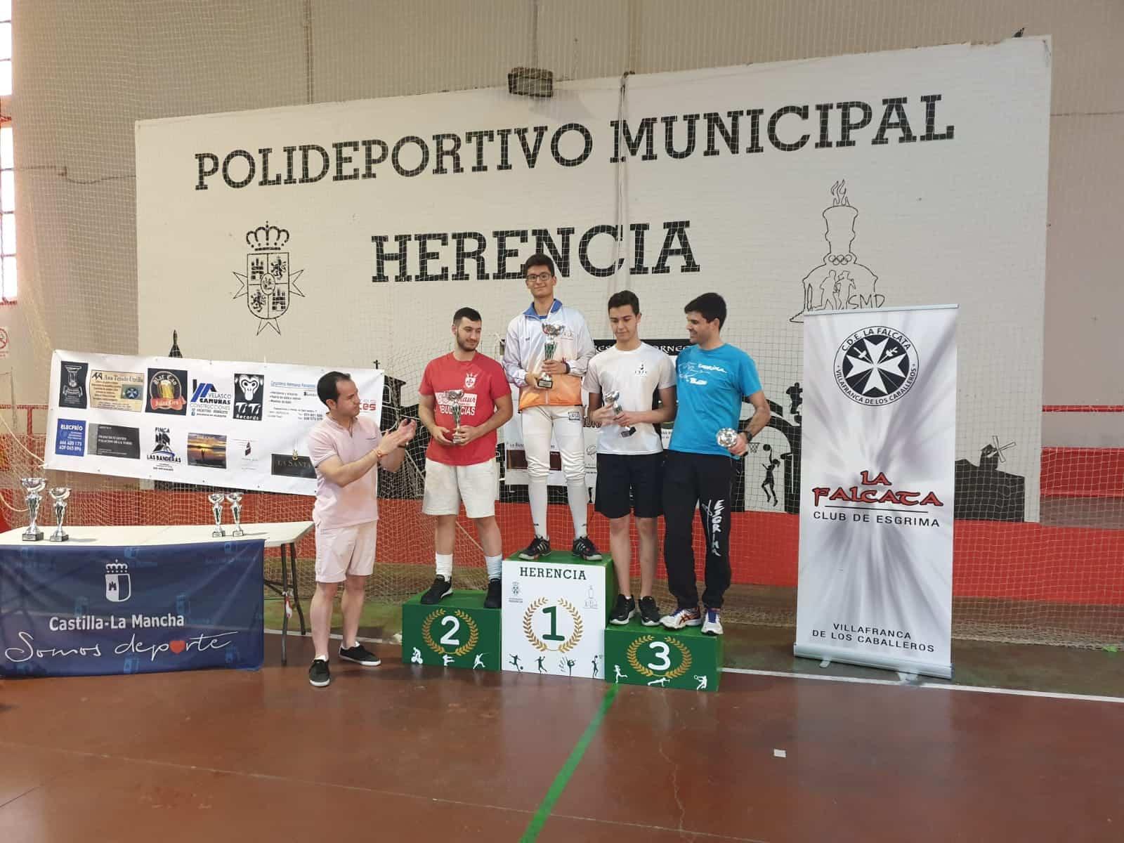 Herencia acoge el Campeonato Senior de Esgrima de Castilla La Mancha 21