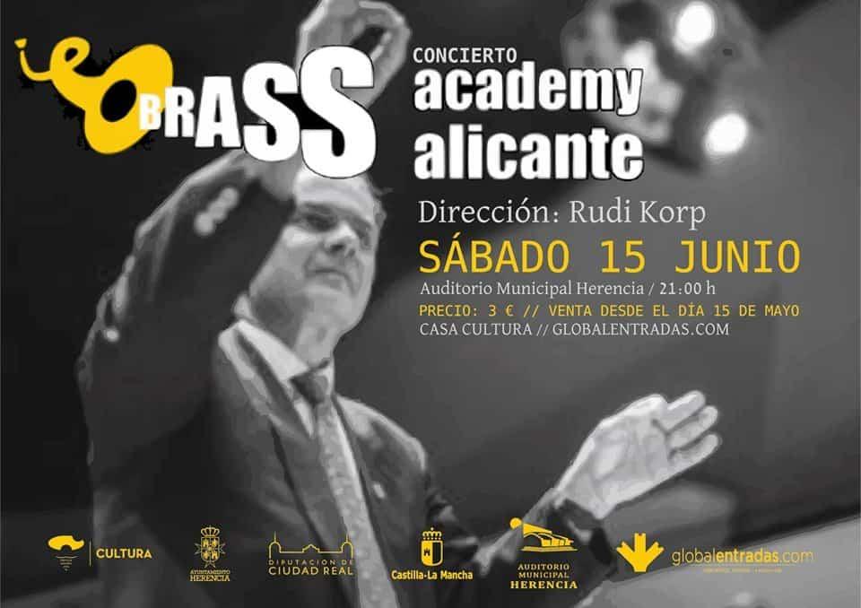 Concierto Brass Academy Alicante - Herencia acoge un concierto de la Brass Academy Alicante