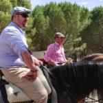 Herencia acoge la final de la Tercera Liga Social de Equitación 22