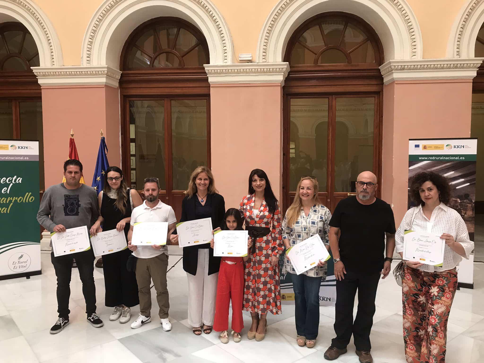 Ganadores y algunos finalistas del concurso un mundo rural vivo - El ministerio de Agricultura organiza una exposición fotográfica que incluye una imagen de Pablo García-Miguel