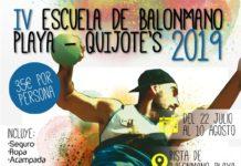 Abiertas inscripciones para la IV Escuela de Balonmano Playa-Quijote's 2019