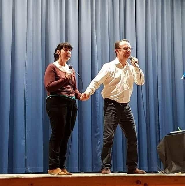 Miguel y MAriavi Cis Adar - Nuevo concierto de Cis Adar en Quintanar de la Orden