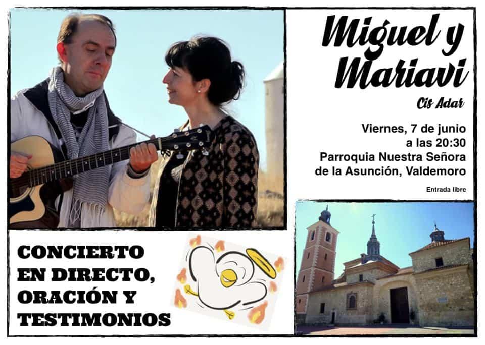 Miguel y Mariavi concierto Cis Adar en Valdemoro - Concierto de Cis Adar en Valdemoro
