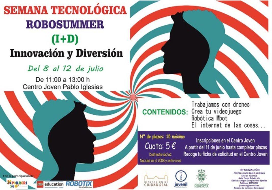RobotSummer 1068x746 - Juventud organiza una semana tecnológica de innovación y diversión