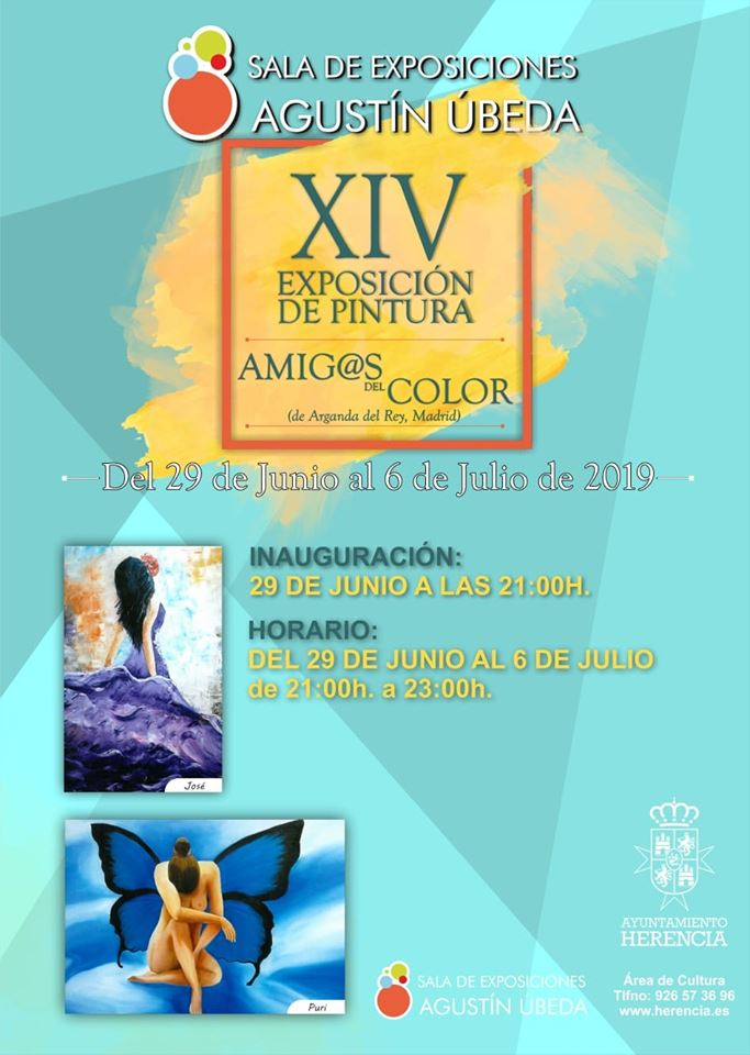 XIV Exposición de pintura Amig@s del Color - XIV Exposición de pintura Amig@s del Color