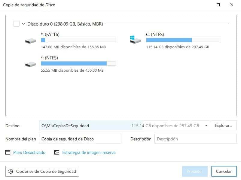copia seguridad de unidades - Realiza copia de seguridad de forma sencilla de tus datos con EaseUS Todo Backup
