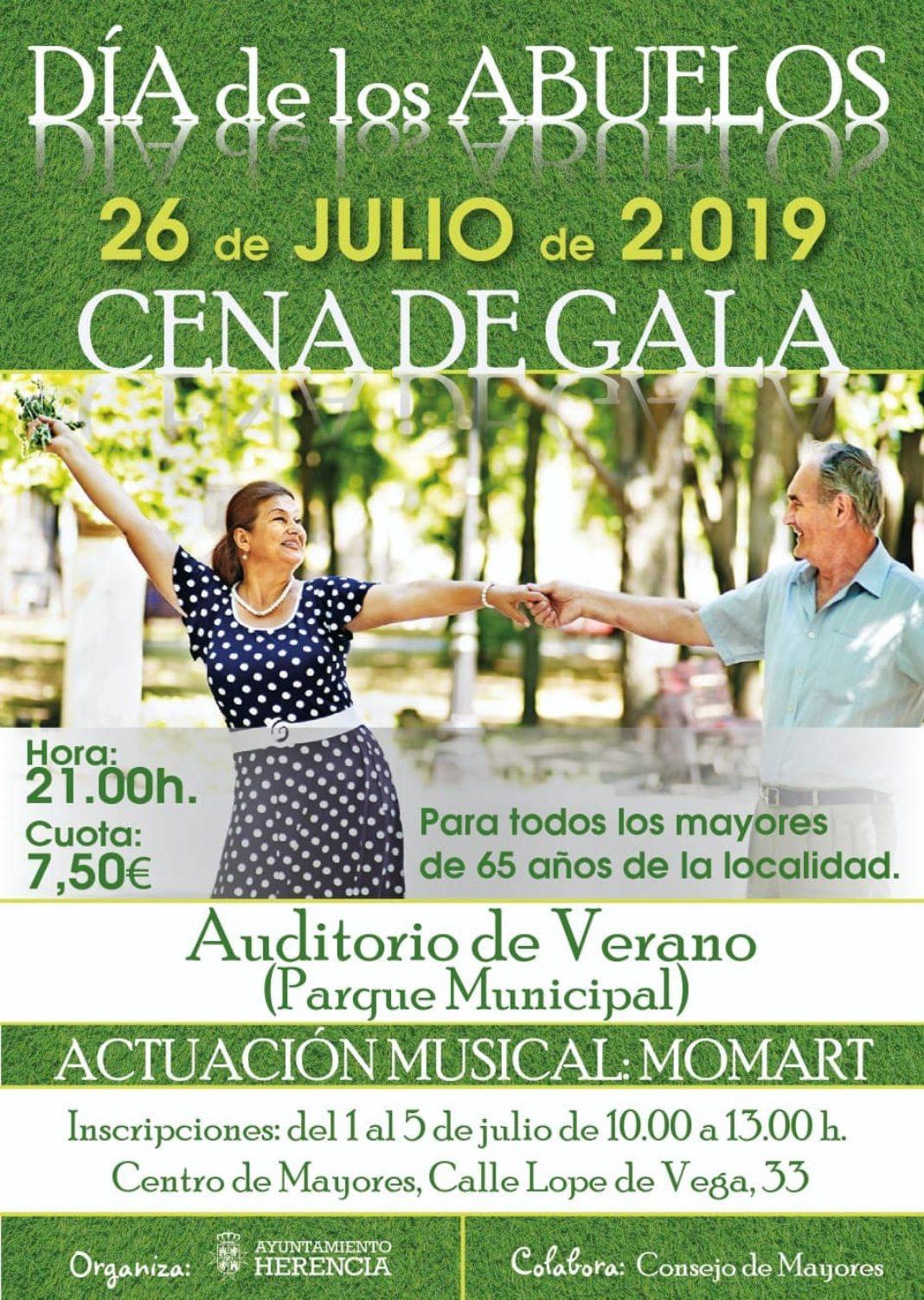 Cena del Gala por el Día de los Abuelos 2019 en Herencia ¡Actualizado con fotos! 25