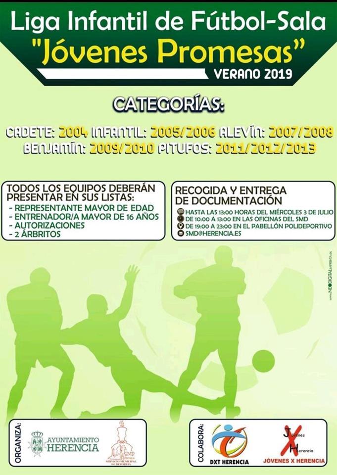 """liga infantil de fútbol sala de herencia - Liga infantil de fútbol sala """"Jóvenes Promesas"""" de Herencia"""