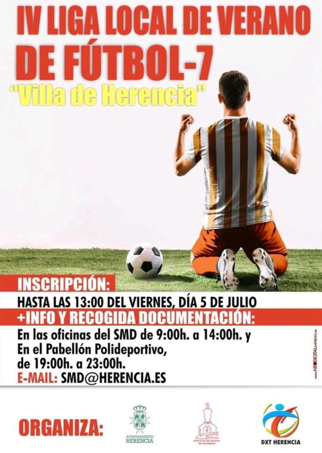 Cuarta liga local de verano de fútbol 7 Villa de Herencia 4