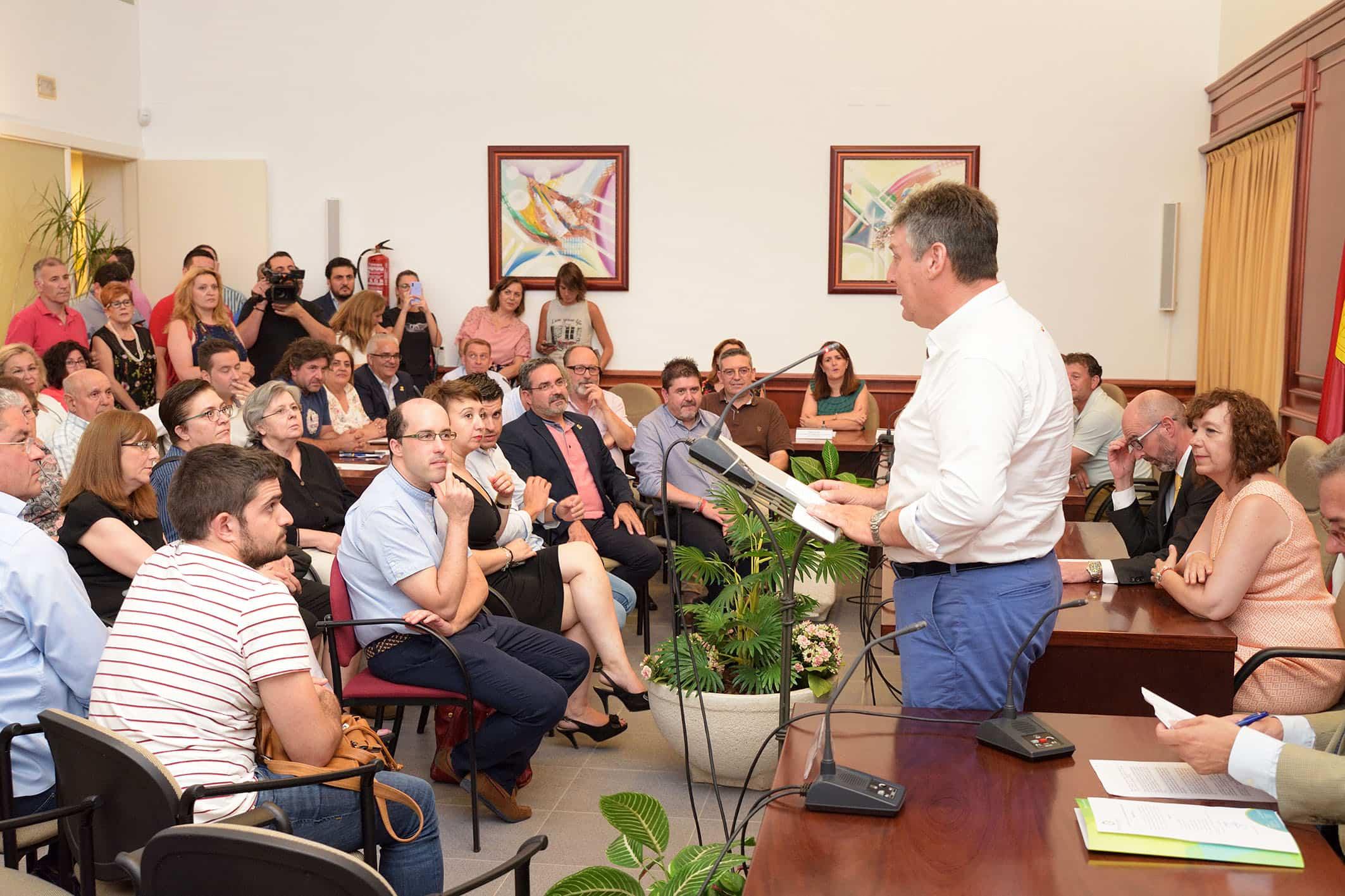 20190724 Constitucion nueva corporacion006 Comsermancha - Constituida la nueva corporación de Comsermancha