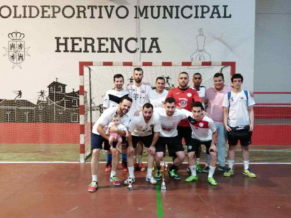 """Finalizada la 34 Maratón de Fúbol-Sala """"Villa de Herencia"""" 29"""