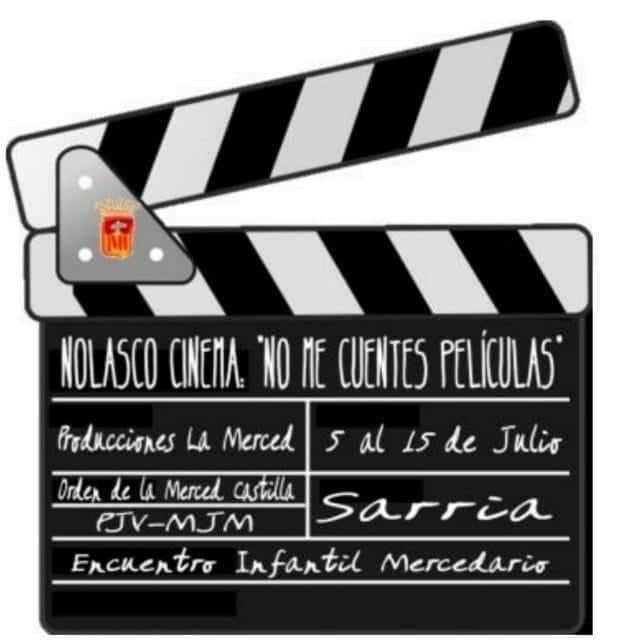 Campamento infnatil mercedario en Sarria - Niños, niñas y monitores de Herencia en el Encuentro Infantil Mercedario de Sarria