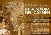 Fiesta del Escapulario de la Virgen del Carmen en Herencia