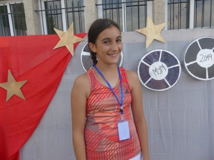 Encuentro infnatil mercedario en Sarria 437x327 - Niños, niñas y monitores de Herencia en el Encuentro Infantil Mercedario de Sarria