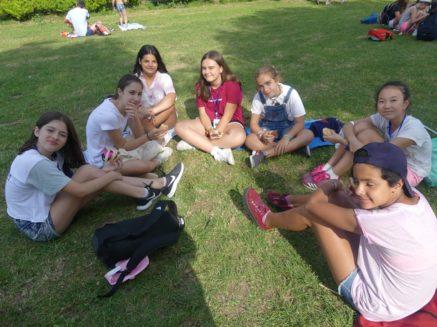 Encuentro infnatil mercedario en Sarria11 437x327 - Niños, niñas y monitores de Herencia en el Encuentro Infantil Mercedario de Sarria