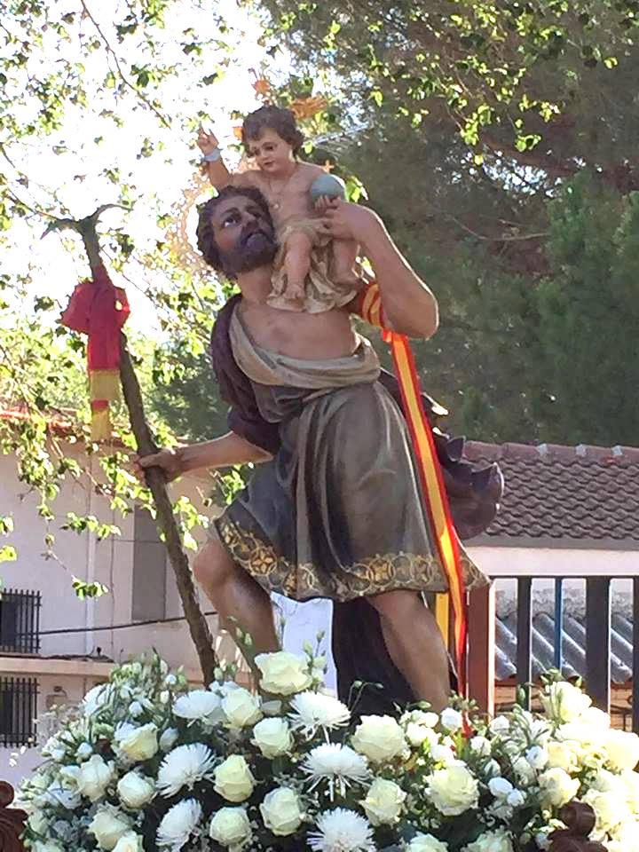 Programa de actos religiosos y festivos en honor a San Cristóbal 8
