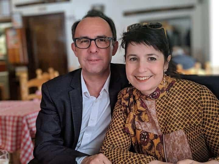 Miguel y Mariavi Cis Adar - Concierto de Cis Adar en Arenas de San Pedro