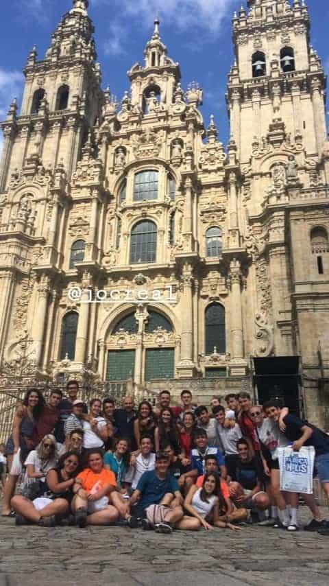 Parroquia de Herencia Camino de Santiago4 - 32 jóvenes de la parroquia de Herencia realizan el Camino de Santiago