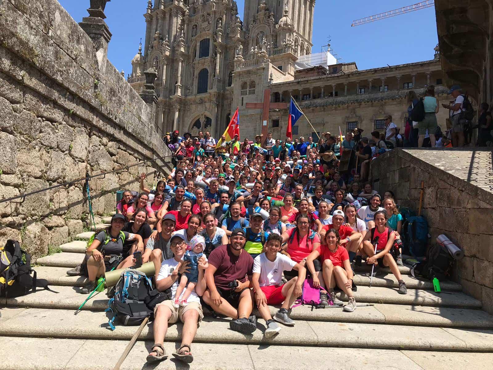 Parroquia de Herencia Camino de Santiago5 - 32 jóvenes de la parroquia de Herencia realizan el Camino de Santiago