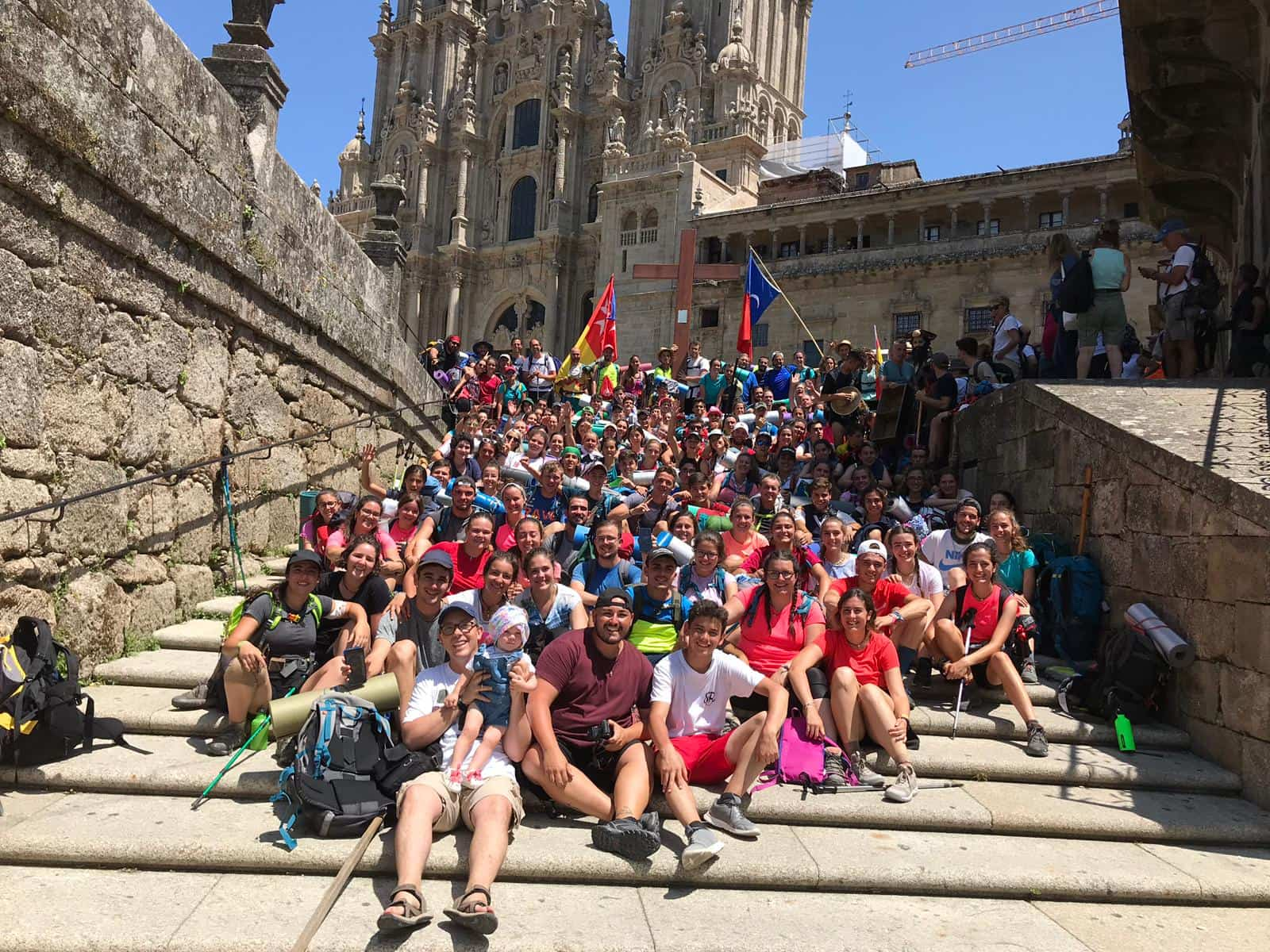 32 jóvenes de la parroquia de Herencia realizan el Camino de Santiago 5