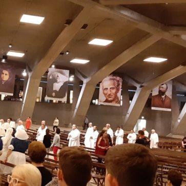 Peregrinación de la parroquia de Herencia a Lourdes