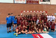 Herencia estuvo presente en el Torneo de Balonmano de Cangas de Narcea