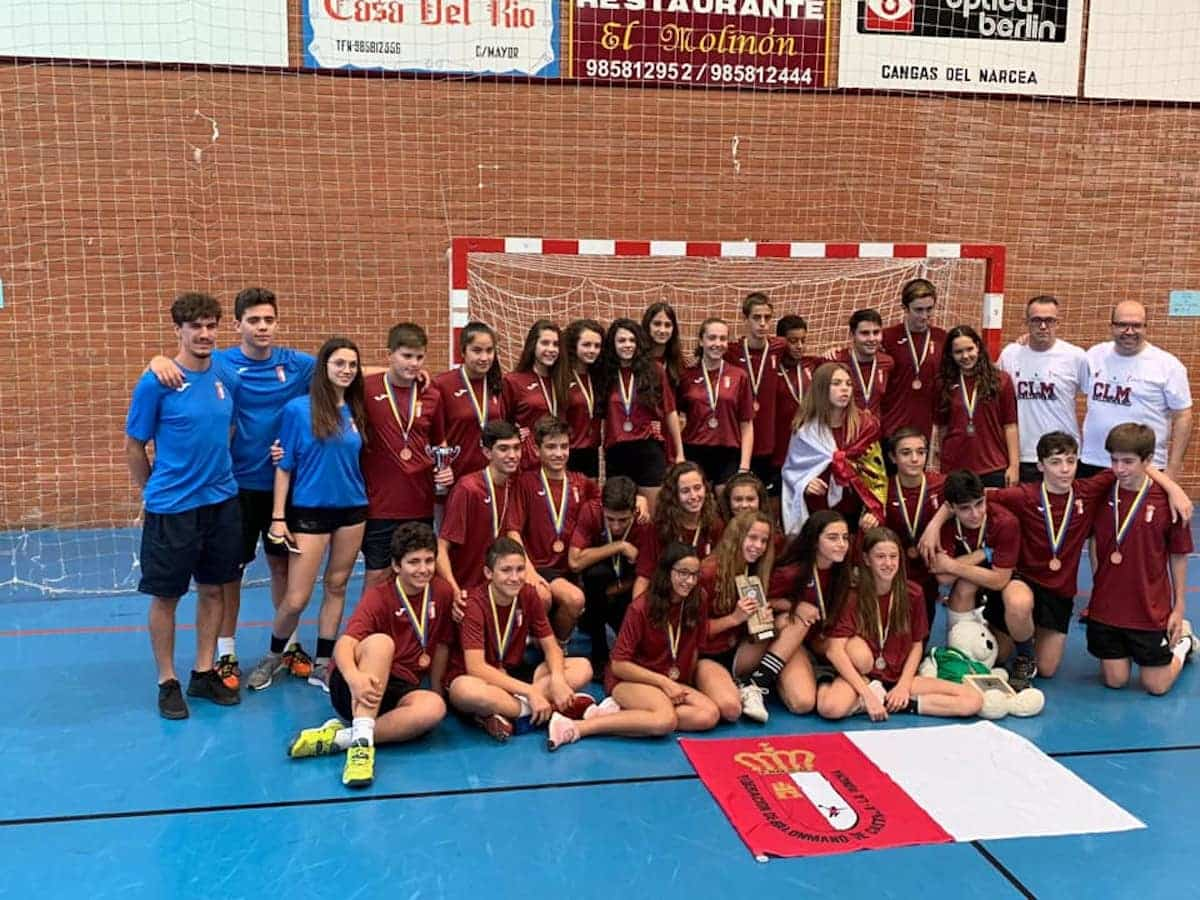 Torneo de Balonmano de Cangas de Narcea - Herencia estuvo presente en el Torneo de Balonmano de Cangas de Narcea