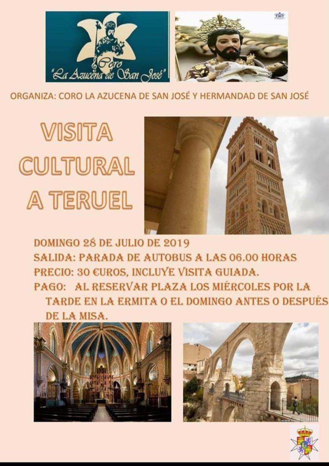 """Viaje a Teruel Coro de la Azucena 1068x1514 - Viaje cultural a Teruel organizado por el coro """"La Azucena de San José"""""""