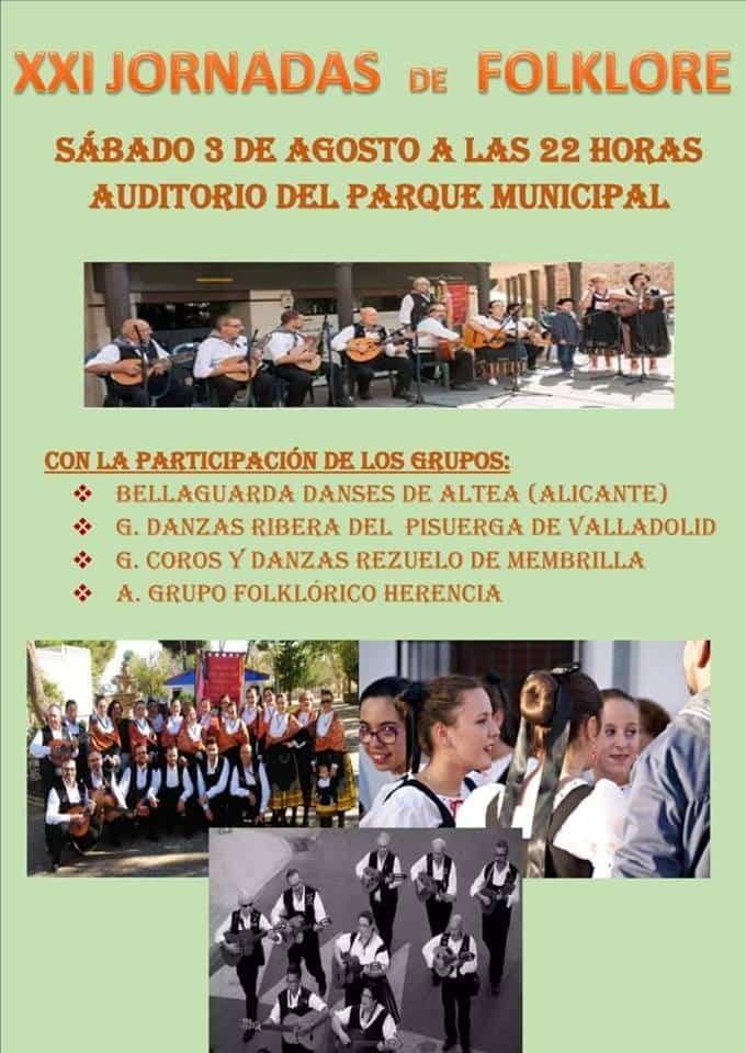 XXI Jornadas de folclore de Herencia - Herencia acoge sus XXI Jornadas Nacionales de Folclore