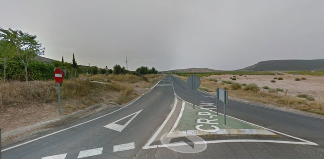 cr 1341 carretera herencia 1068x524 - Cortes en la carretera que une Herencia y Manzanares