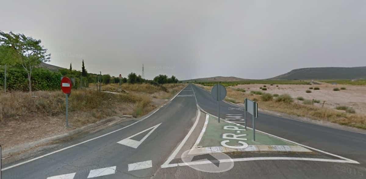 cr 1341 carretera herencia - Cortes en la carretera que une Herencia y Manzanares