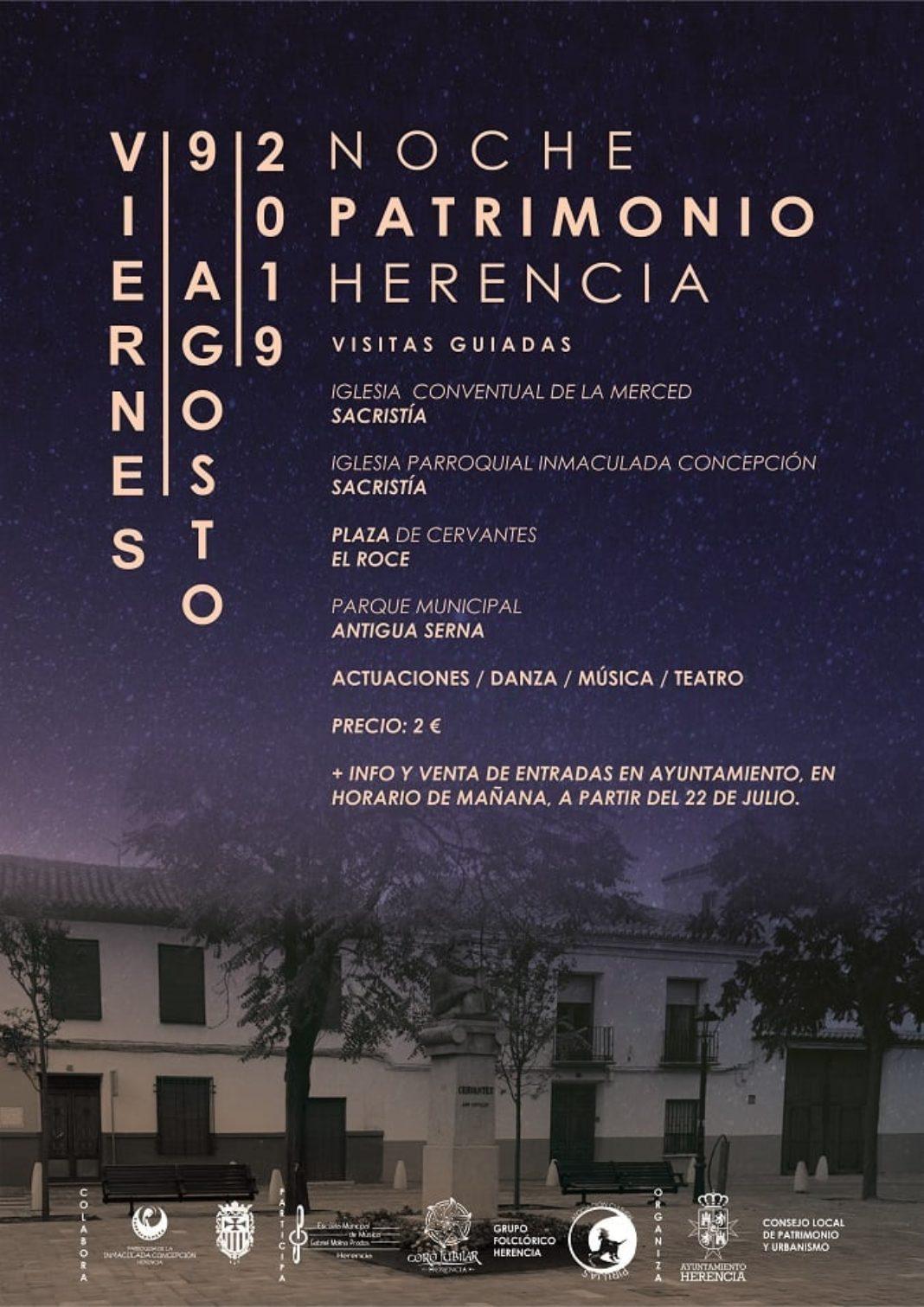 ii noche del patrimonio herencia 1068x1511 - Herencia presenta la II Noche del Patrimonio