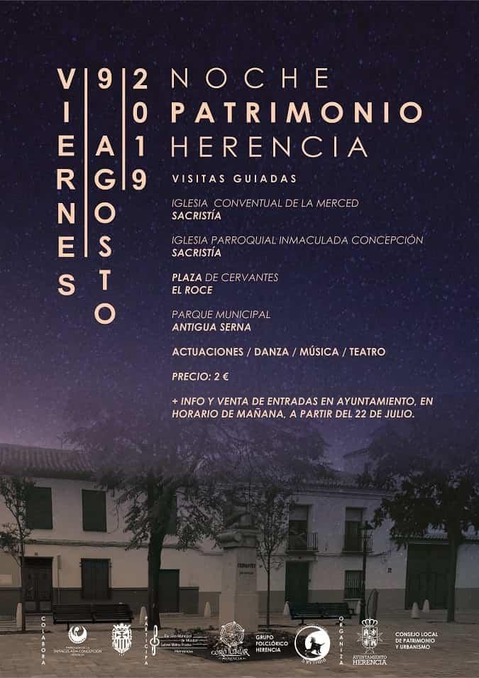 ii noche del patrimonio herencia - Herencia presenta la II Noche del Patrimonio
