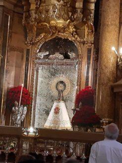 visita de la parroquia de Herencia a la bas%C3%ADlica del Pilar Zaragoza2 246x328 - La parroquia de Herencia peregrina al santuario mariano de Lourdes