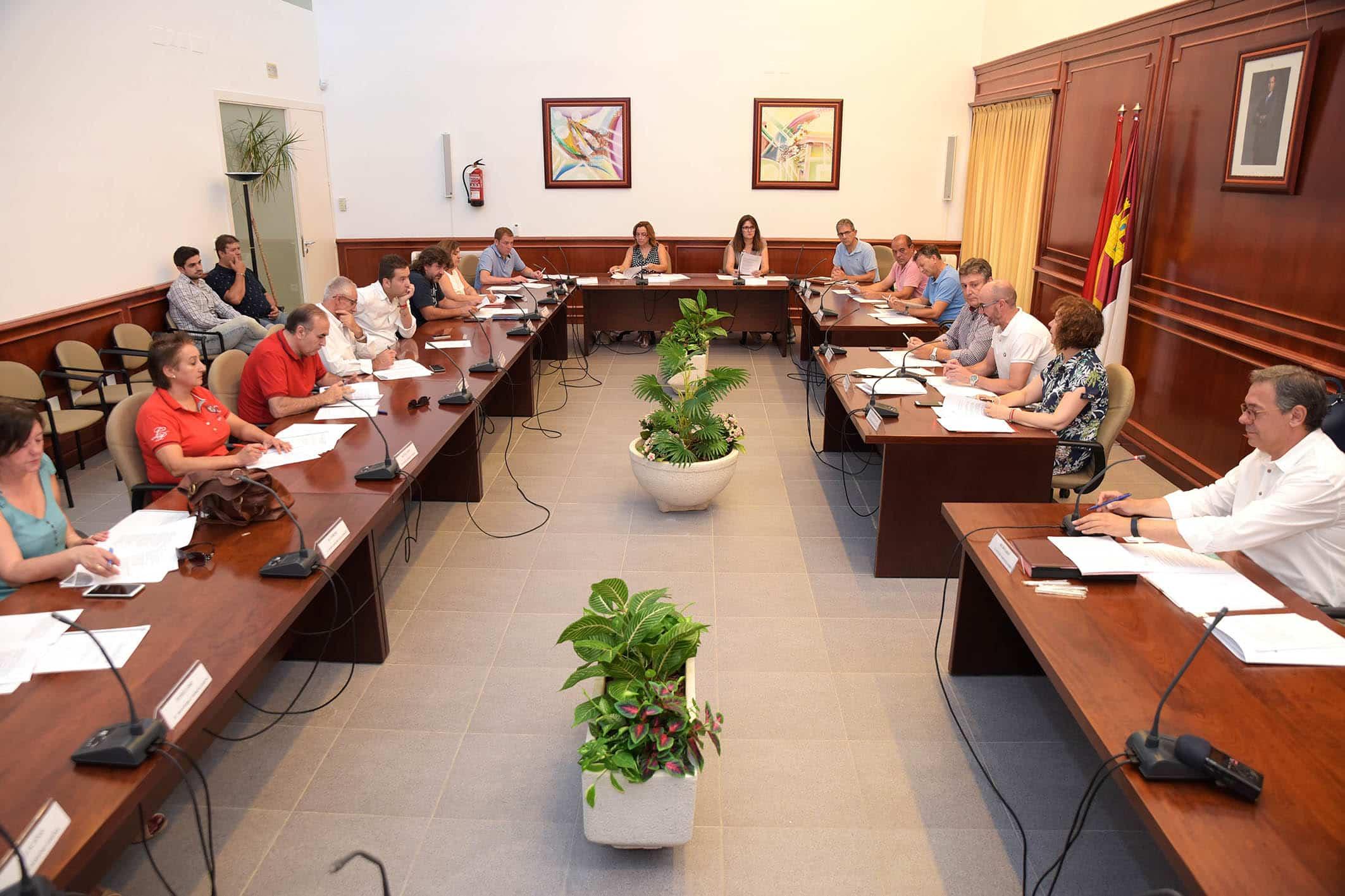 20190802 Pleno Extra Comsermancha - Concepción Rodríguez será miembro de la comisión de Gobierno y Hacienda de Comsermancha