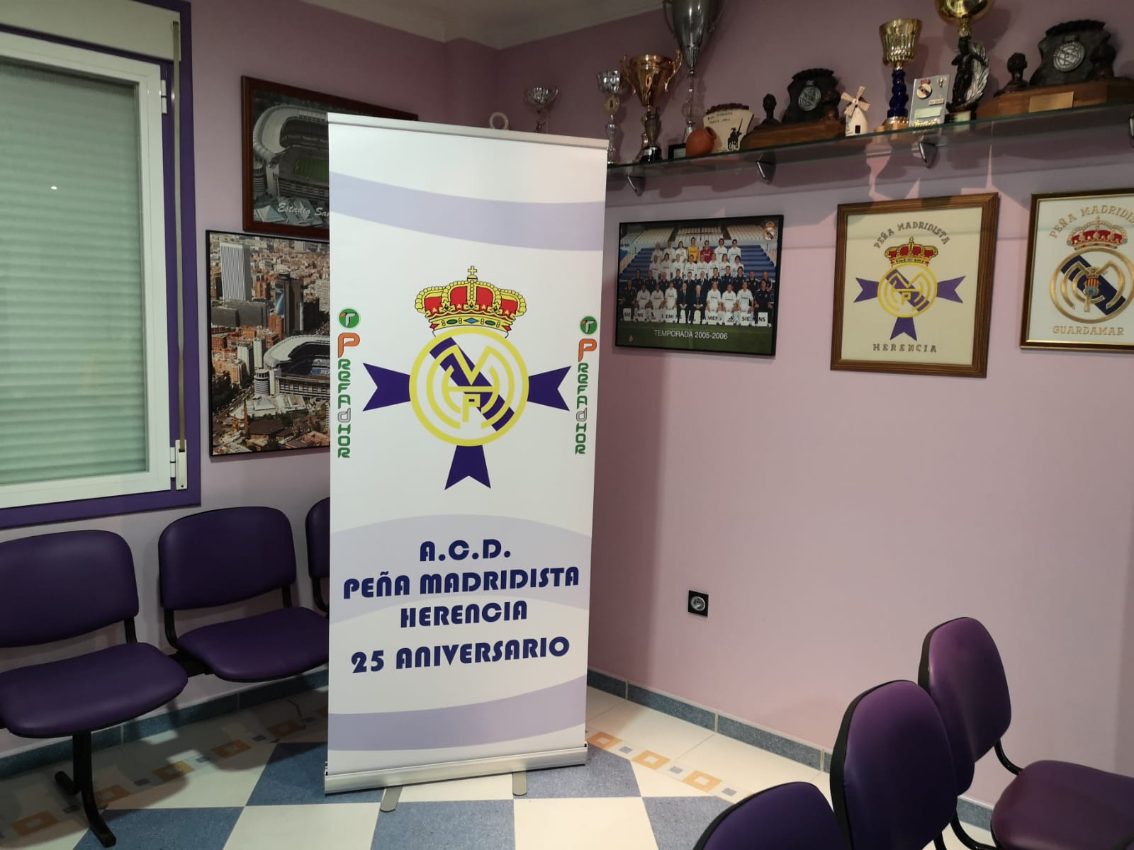25 aniversario pe%C3%B1a madridista Herencia - Torneo de Minigolf 25 aniversario de la Peña Madridista de Herencia