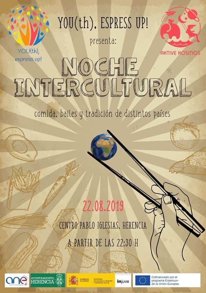Noche Intercultural de la mano de Aktive Kosmos y el proyecto Erasmus+ Youth Express Up! 3