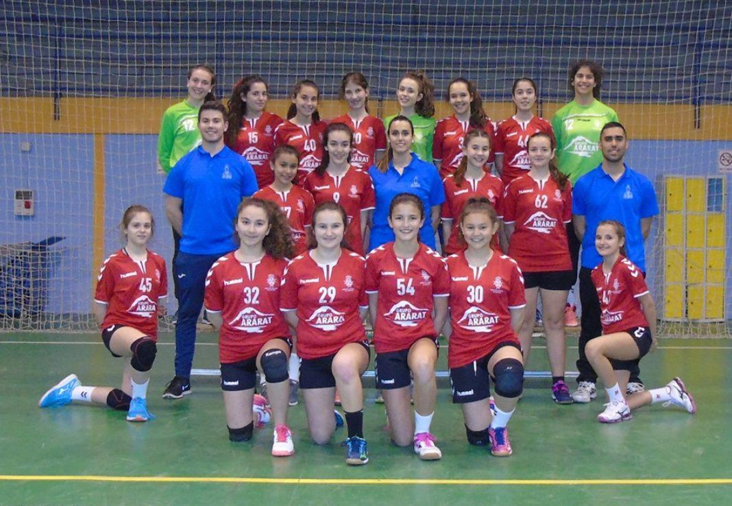 BM Herencia Femenino 1068x738 - Los equipos del BM Herencia femenino senior y juvenil ya conoce sus rivales y calendario