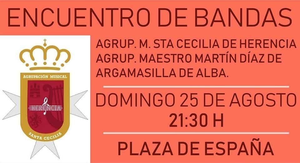 Encuentro de bandas de música en Herencia 3