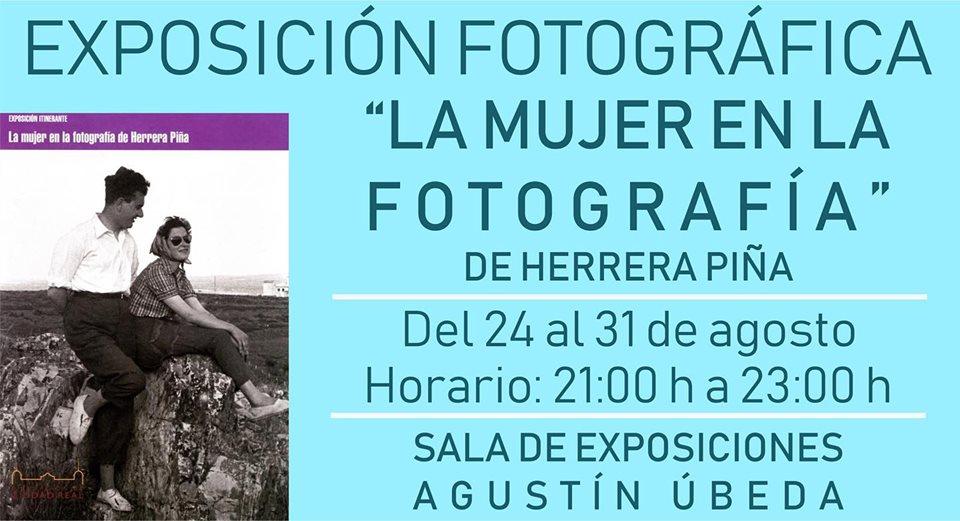 """Exposición La Mujer en la fotografía de Herrera Piña - Herencia acoge la exposición """"La mujer en la fotografía de Herrera Piña"""""""