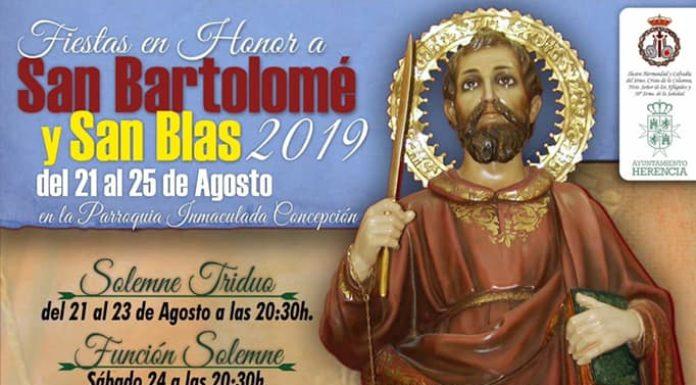 Herencia prepara las fiestas en honor a San Bartolomé 2019