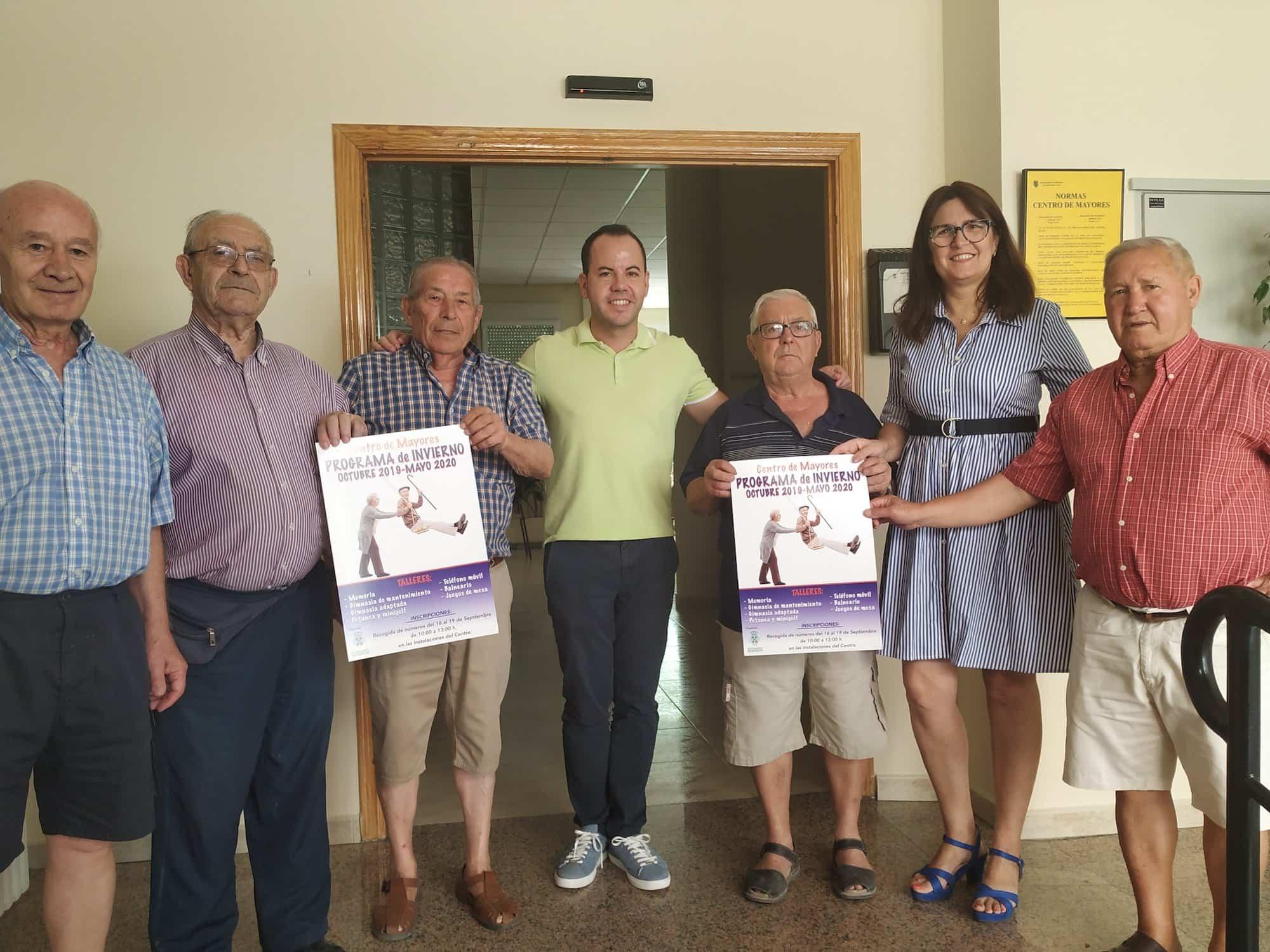 Foto mayores programacion herencia - El Centro de Mayores de Herencia presenta su nuevo programa de actividades para el próximo curso