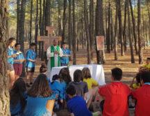 Herencia campa2019 1 216x167 - Los scouts de «La Inmaculada» de Herencia en verano