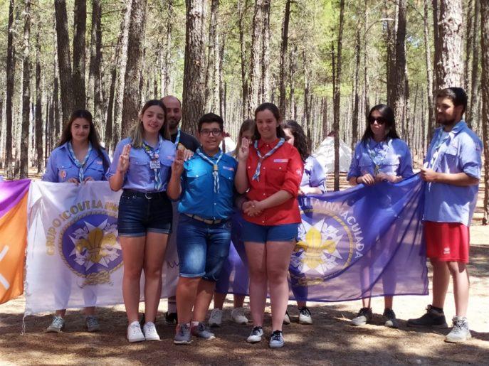Herencia campa2019 11 687x515 - Los scouts de «La Inmaculada» de Herencia en verano