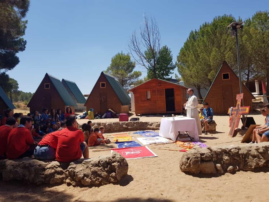 Herencia campa2019 15 - Los scouts de «La Inmaculada» de Herencia en verano