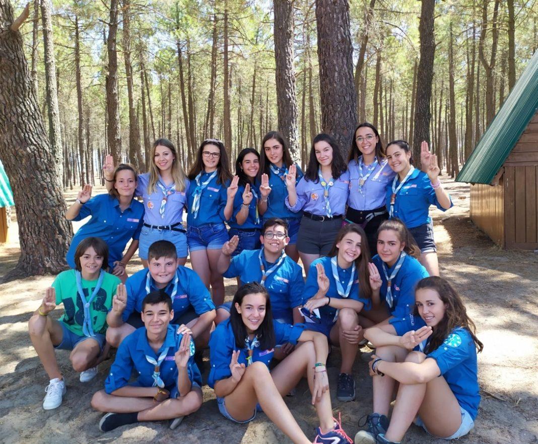 Los scouts de «La Inmaculada» de Herencia en verano 23