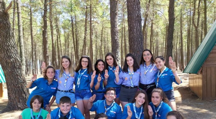 Los scouts de «La Inmaculada» de Herencia en verano
