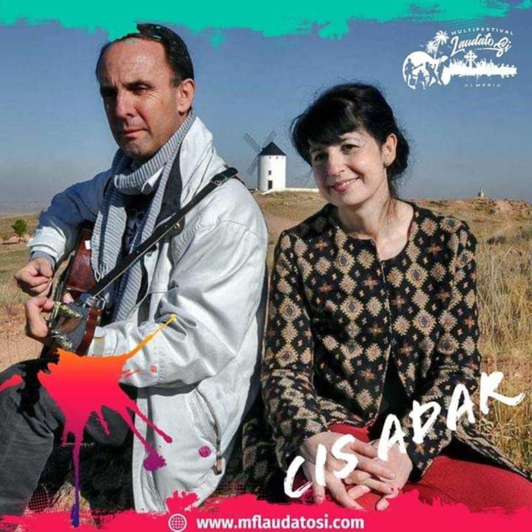 Miguel y Mariavi Cis Adar 1068x1068 - Cis Adar en el festival internacional Laudato Si de Almería