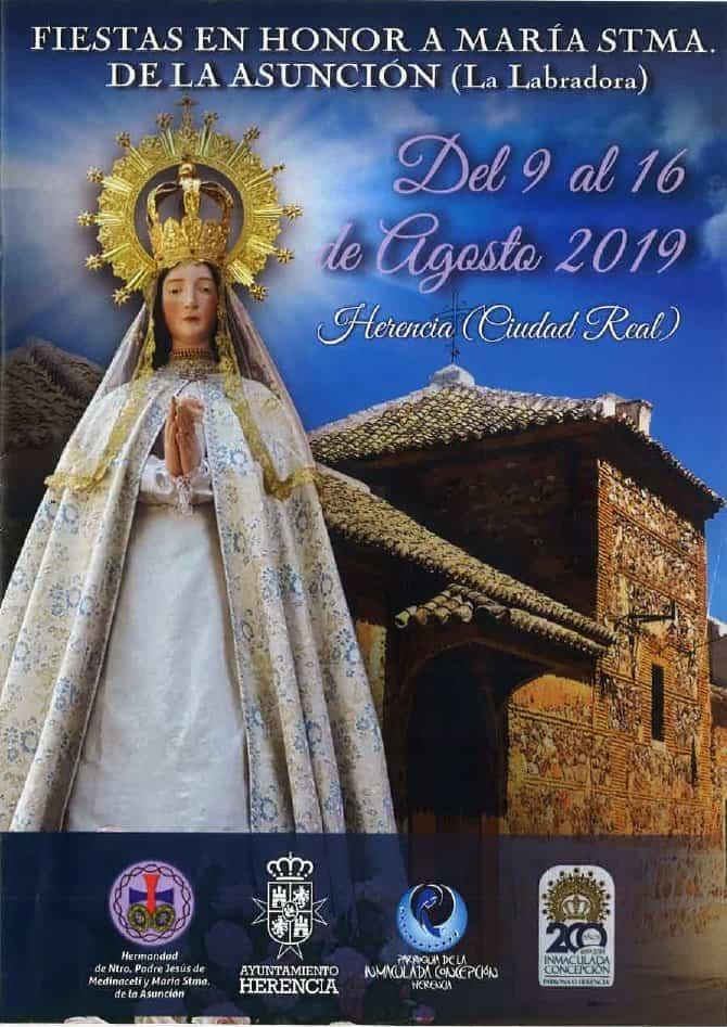 Portada Fiestas Labradora - El Barrio de la Labradora celebra sus fiestas en honor a María Santísima de la Asunción