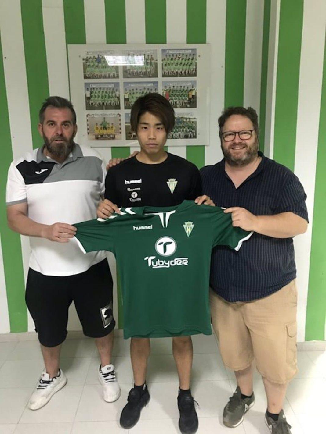 Takuya Otaka jugador herencia 1068x1424 - Takuya Otaka nuevo fichaje del Herencia C.F.